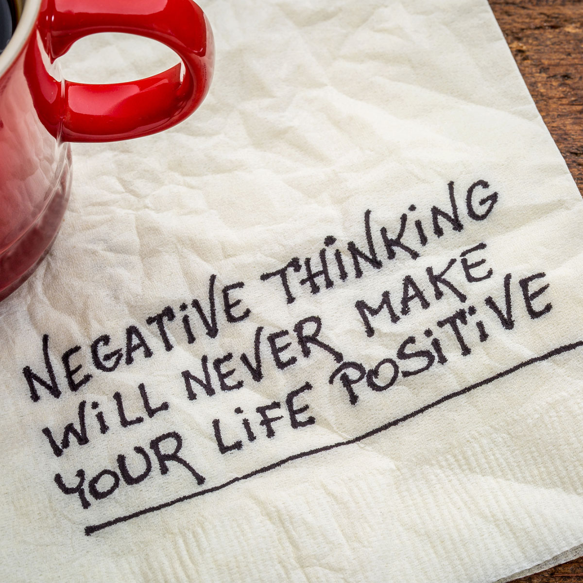 Five Simple Steps to Overcome Negative Thinking